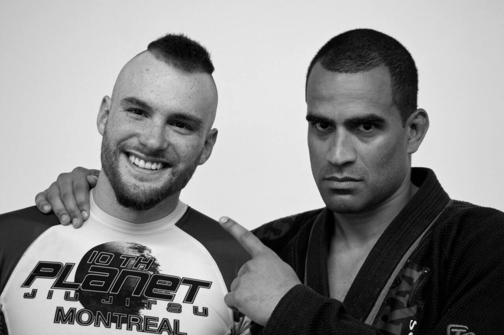 Jesse Bell and the great Renato Laranja