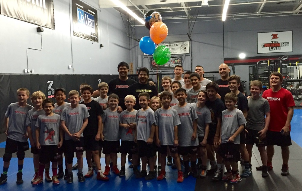 Reign Wrestling with Coach Mark Munoz and Matthew Lopez