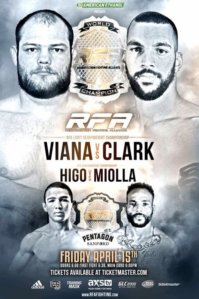 Official RFA 37 poster