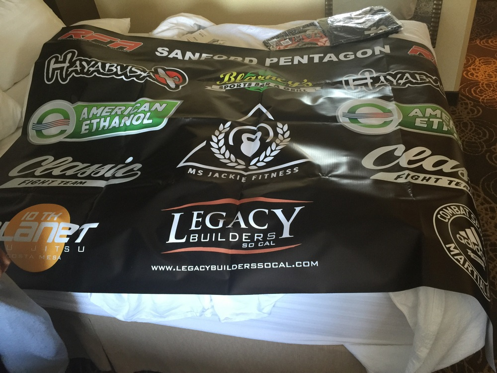Matthew Lopez fight banner
