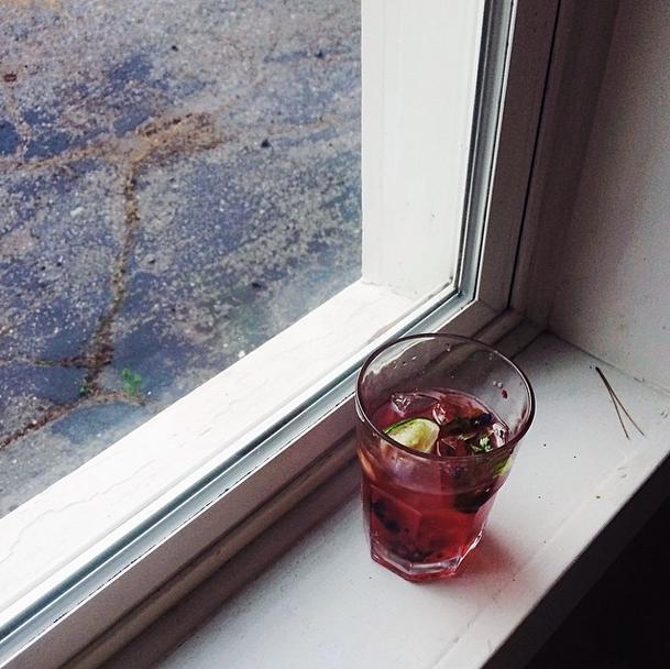 Blackberry Vodka Mojito