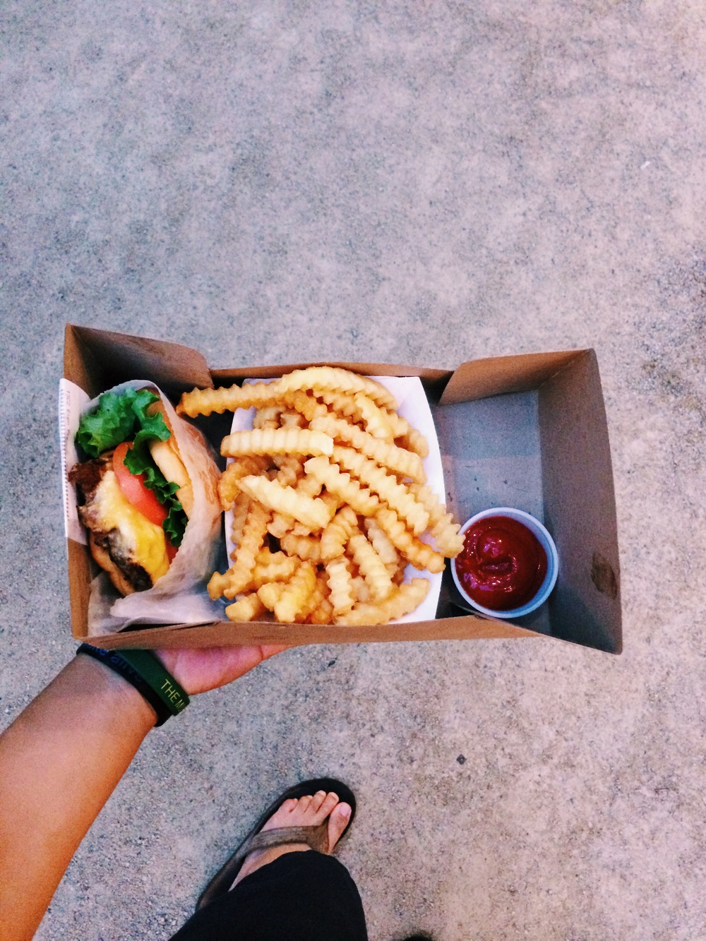New York wouldn't be complete with a Shake Shack visit