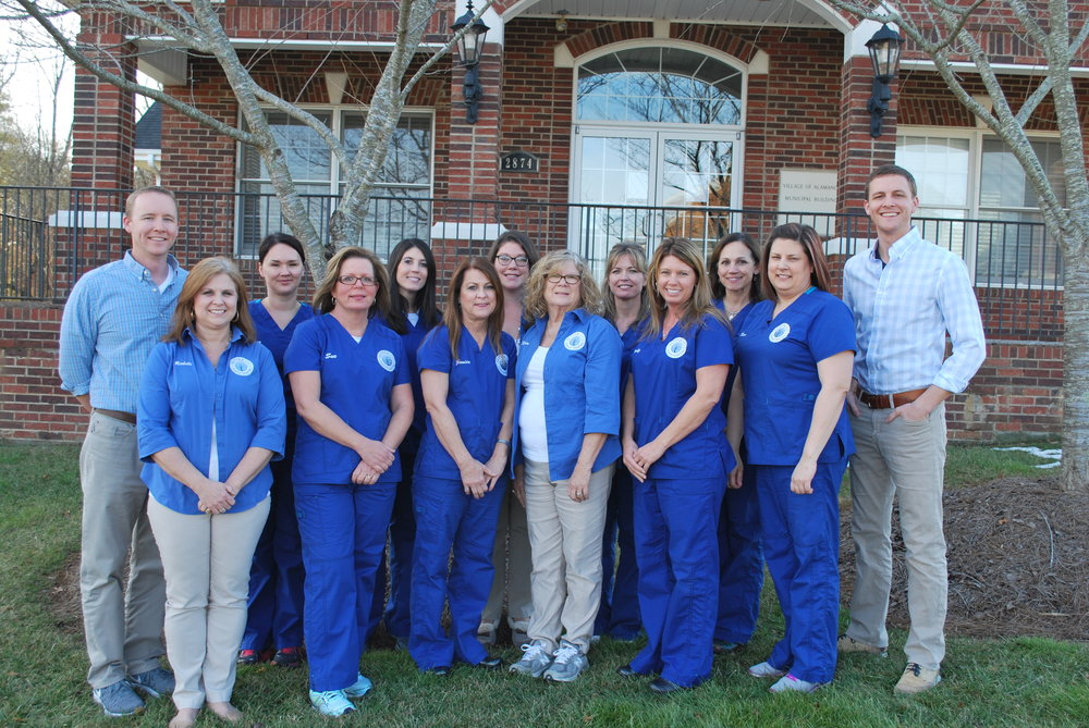 Left to Right:  Dr. Stuart, Michelle, Melissa, Sue, Amanda, Janice, Kristin, Karen, Angie, Wendy, Cathy, Dawn, Dr. Nathan