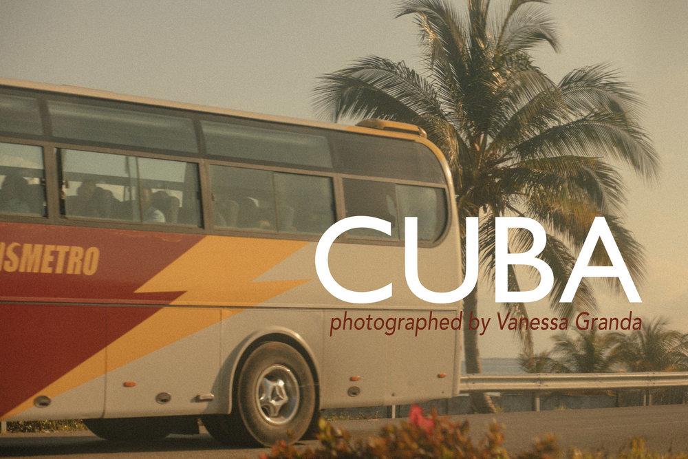 Cuba photographed by Vanessa Granda