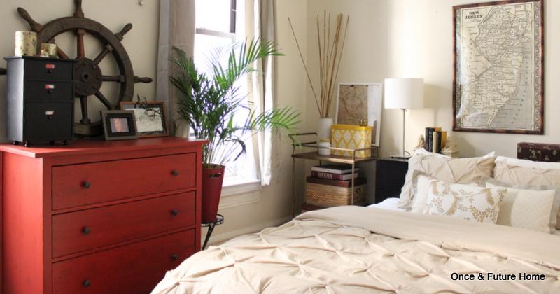 Pottery Barn (?) Inspired Bedroom
