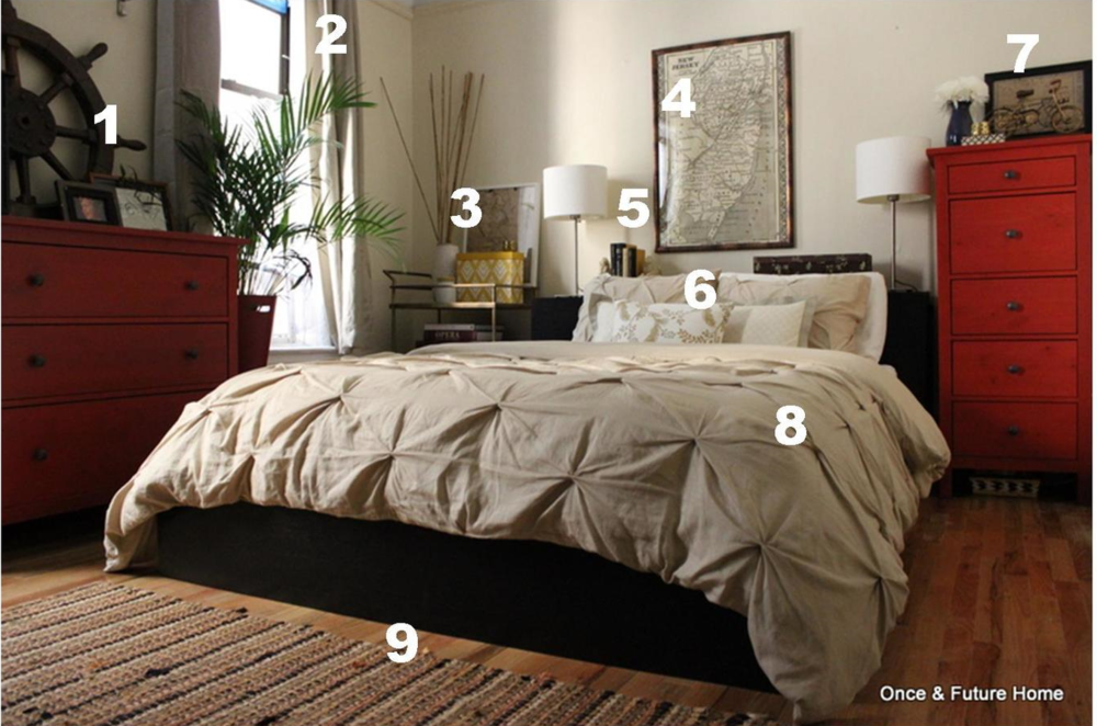 pottery barn inspired bedroom budget breakdown