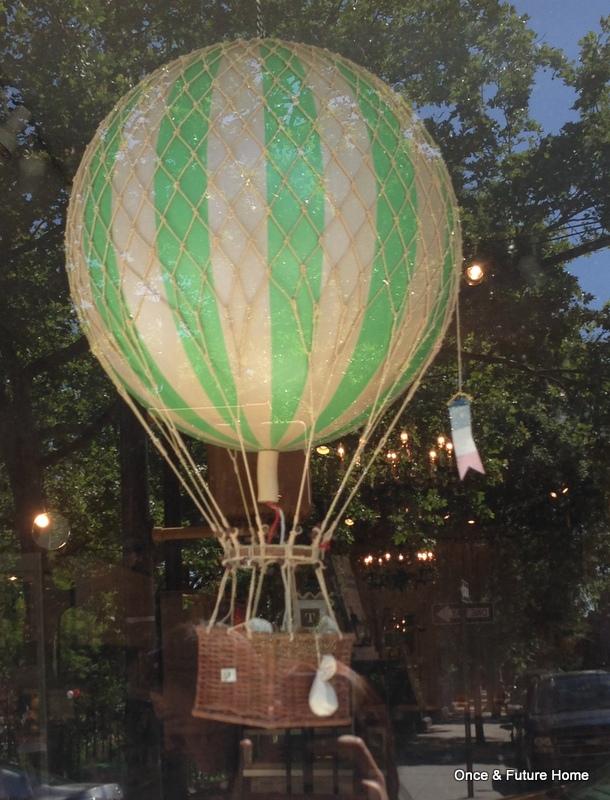 how to make tissue paper balloon lanterns