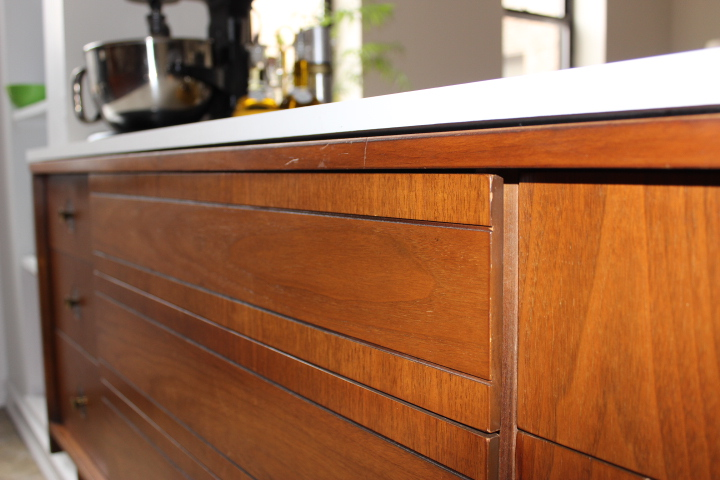 Turn A Dresser Into A Kitchen Island: Turn A Dresser Into A Kitchen Island With No Tools