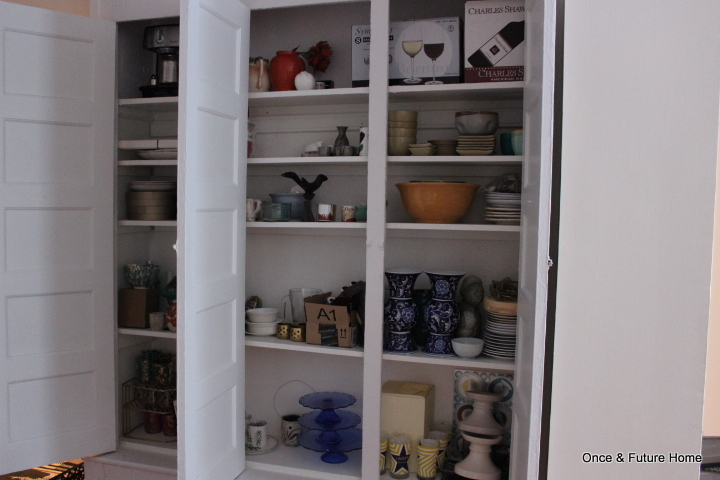 Dining Room Hutch Display