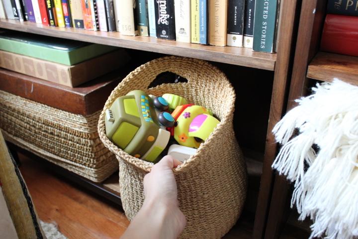 Hidden Toy Storage