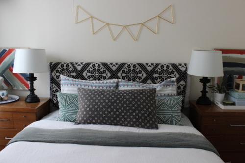 diy upcycled free headboard  once  future home, Headboard designs