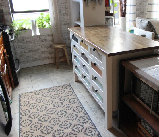Incroyable IKEA Hack Kitchen Island Cart