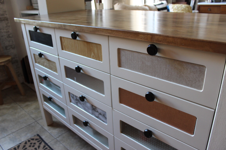 Ikea Hack Kitchen Island Drawer Makeover