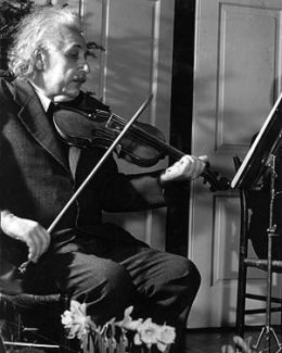 Did you know that Albert Einstein was a keen musician and accredited much of his ability to think and solve problems to the skills he gained from learning and playing music?
