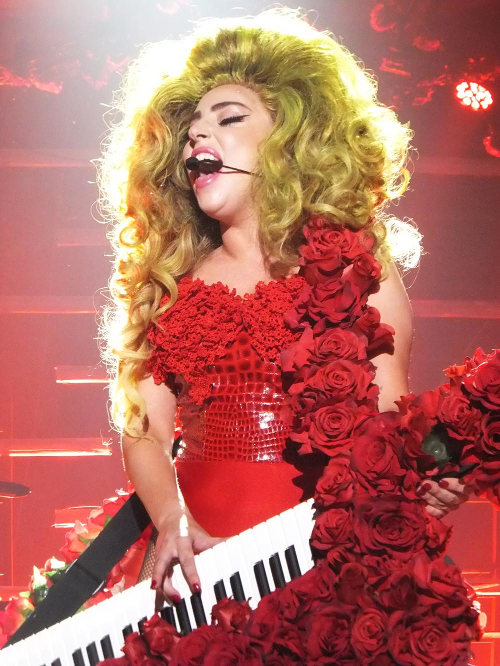 Lady Gaga, Roseland Ballroom, NYC, 2015