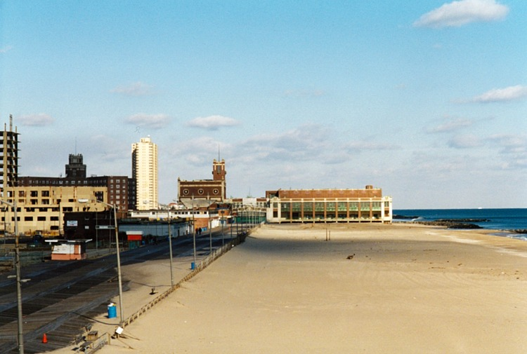The view from the second story of the Casino, 2001