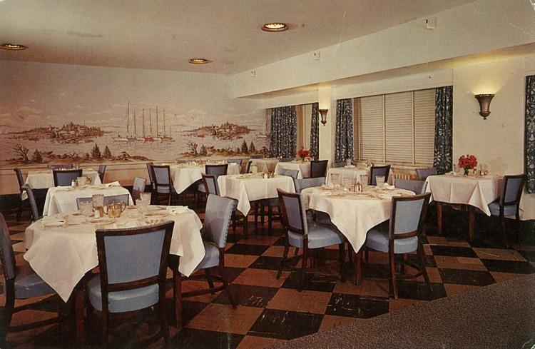 Asbury-Carlton Hotel Dining Room