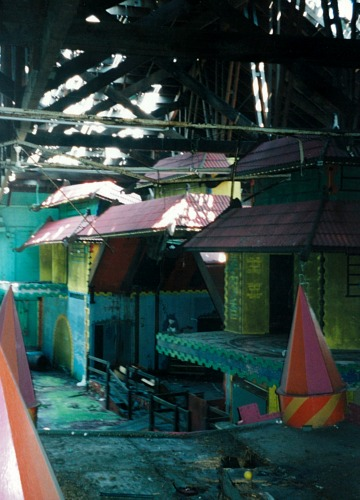 The view from the Fun House, 2003