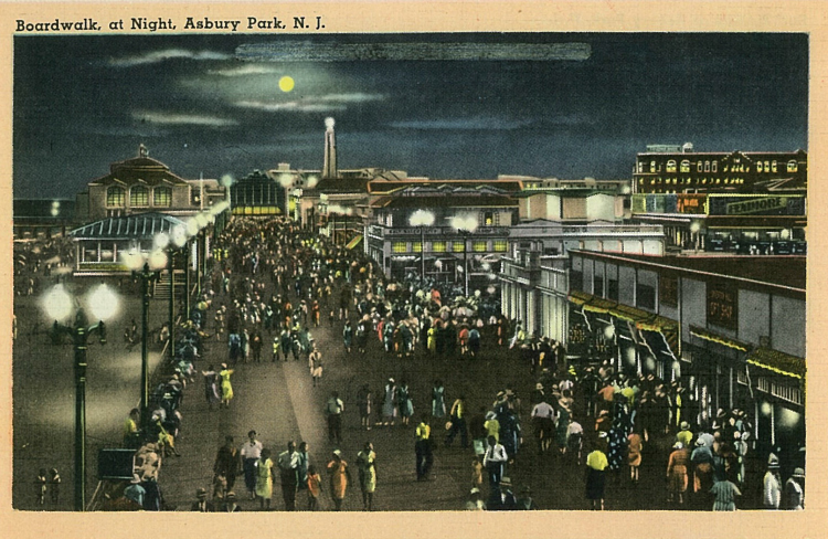 The Boardwalk by Night