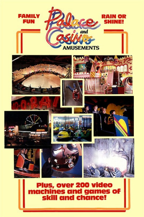 Palace Amusements Brochure