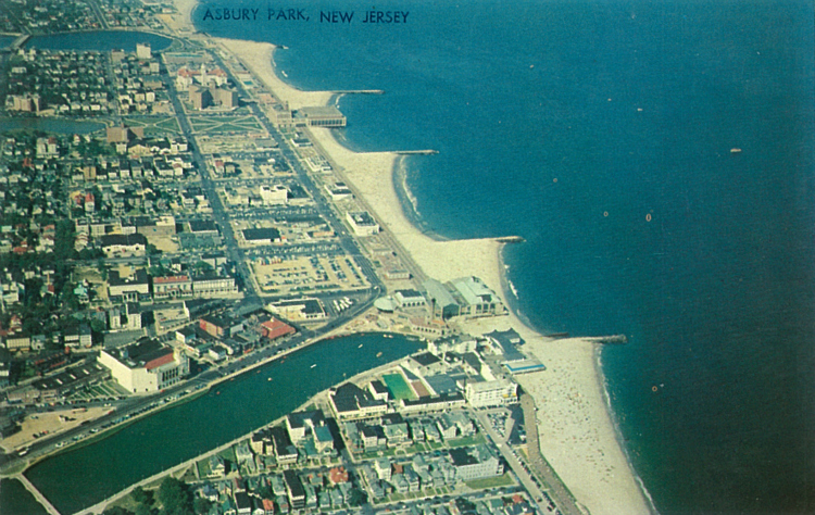 Boardwalk Aerial View
