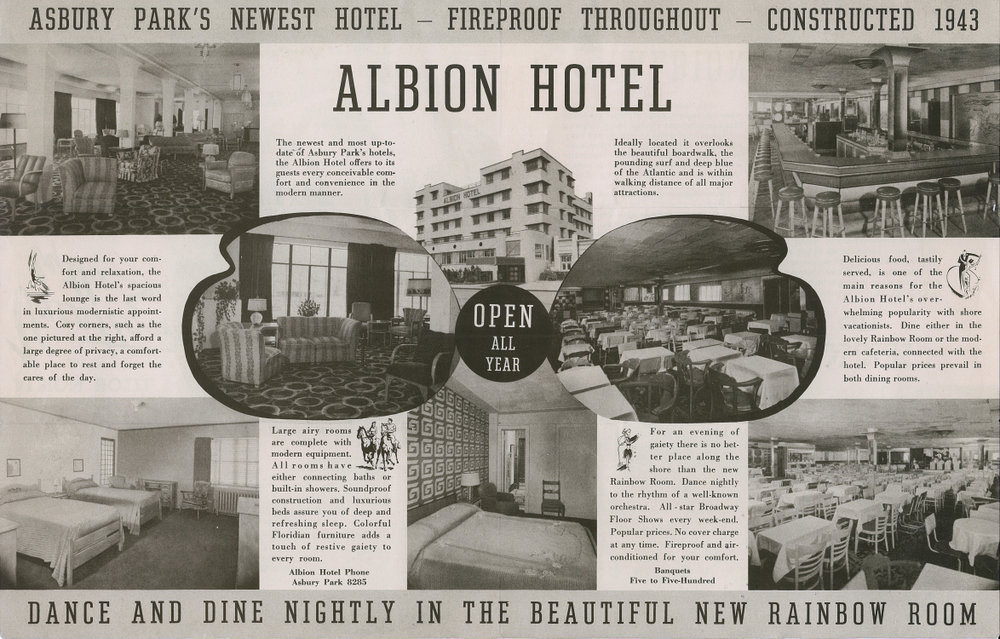 Albion Hotel Brochure