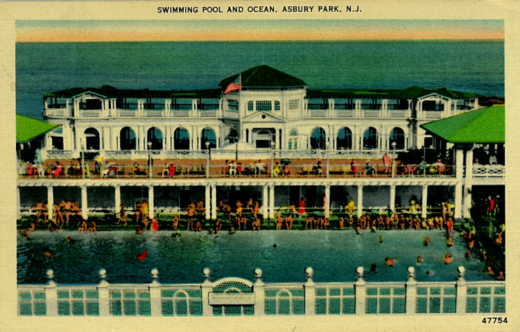 The Seventh Avenue Pavilion and Pool