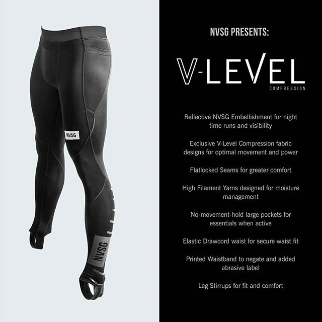 50% OFF WINTER SALE ~  V-Level Compression by NVSG  Available in Mens and Ladies . Use Promo Code: TAKEIT50 at Checkout