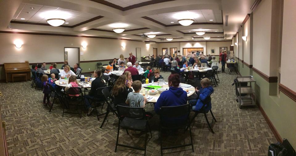 Weekly Fellowship Dinner Before Youth Group