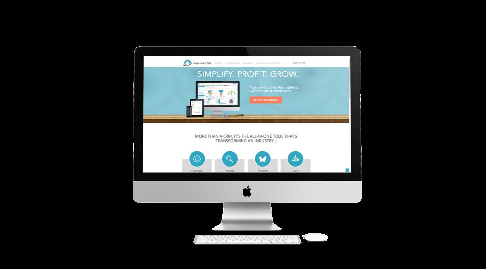 www.improveit360.com  in collaboration with web designer Todd Santoro