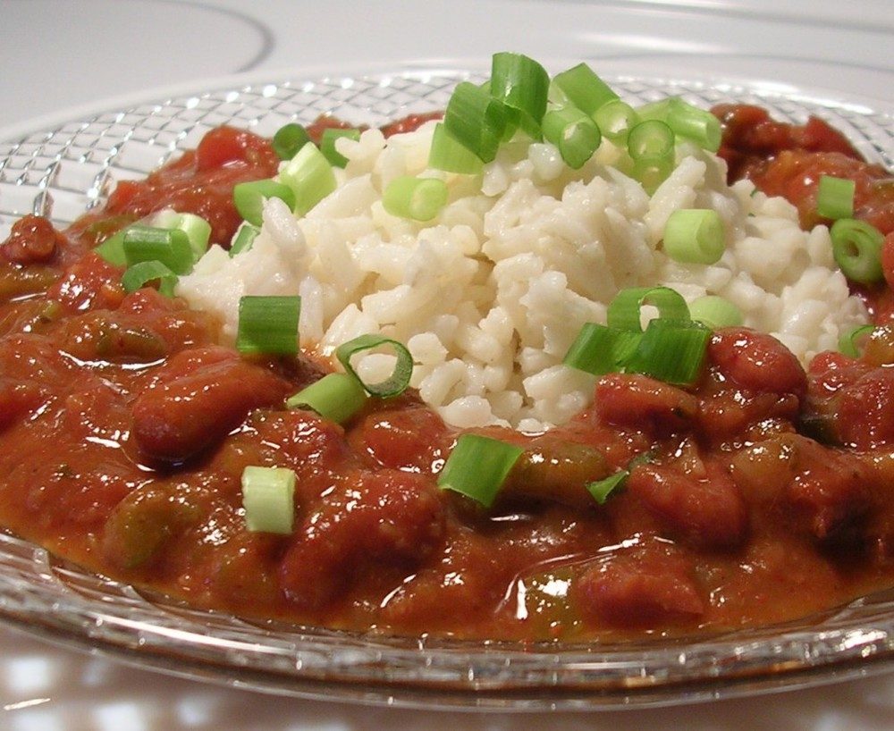 Come in and get some of Wayne's red beans today!