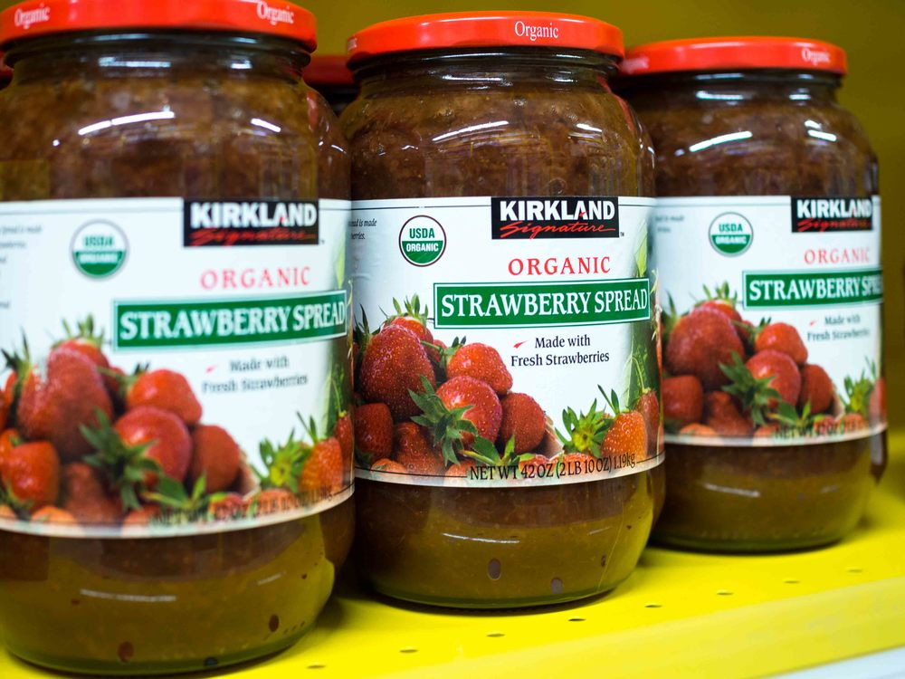 Kirkland Organic Strawberry Spread