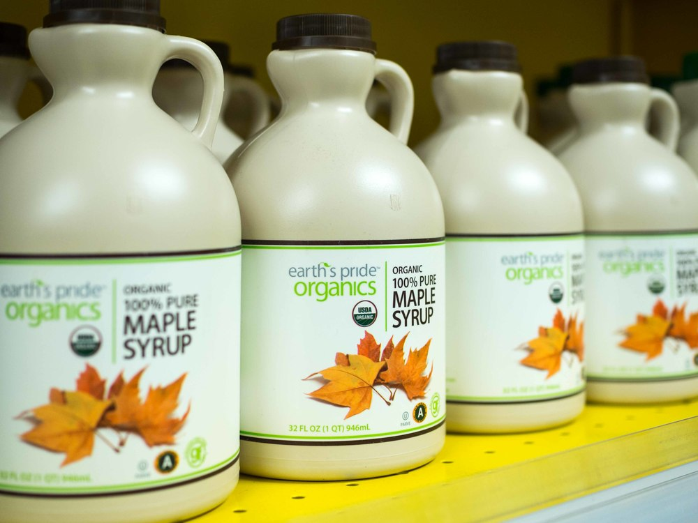 Earth's Pride Organic Maple Syrup