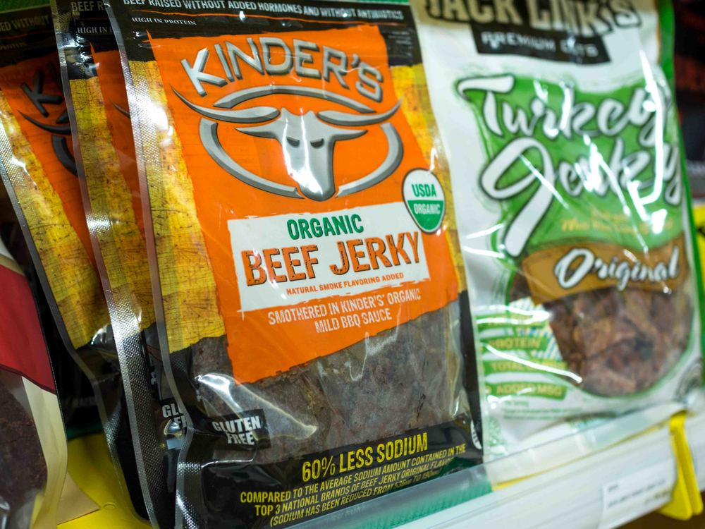 Kinder's Organic Beef Jerky