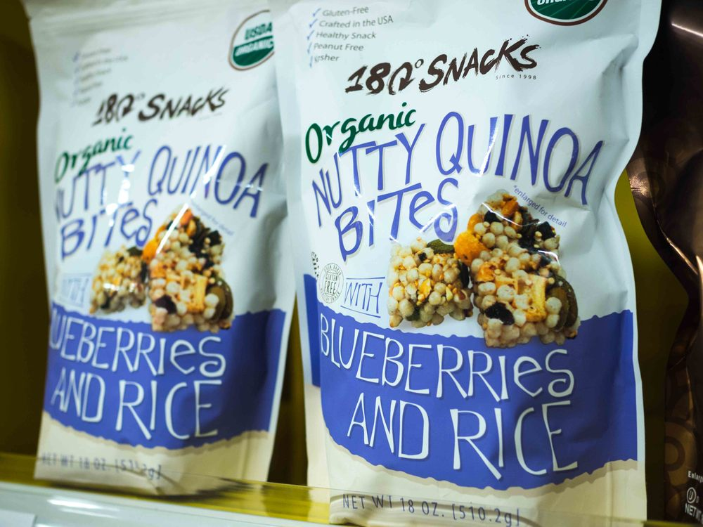 180° Snack Organic Nutty Quinoa Bites