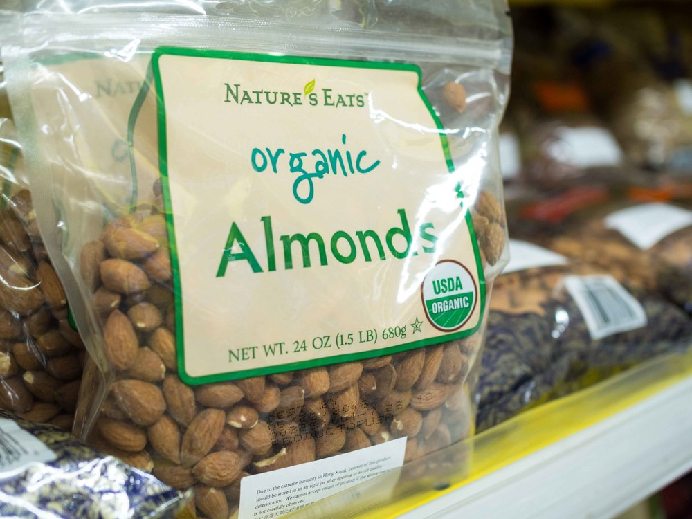 Nature's Eats Organic Almonds