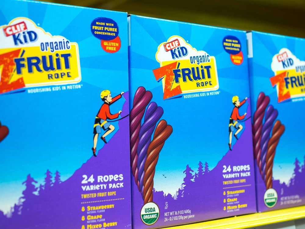 Clif Kid Organic ZFruit Rope