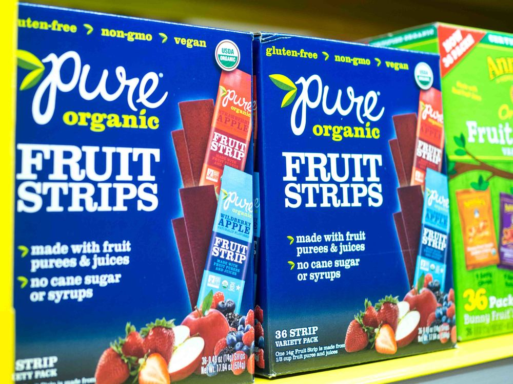 Pure Organic Fruit Strips
