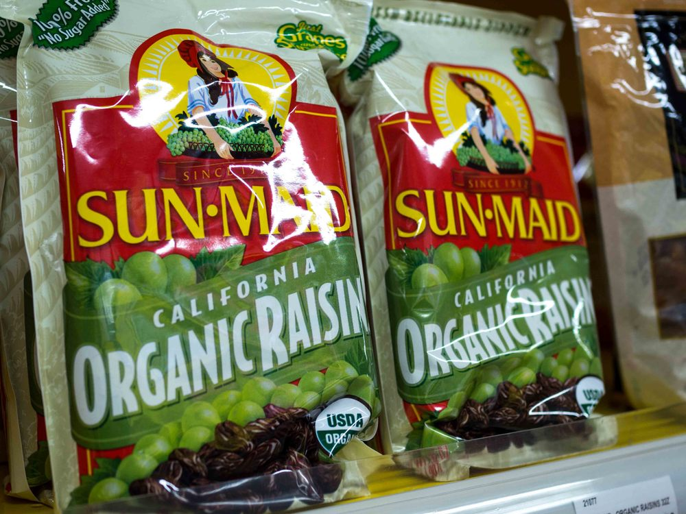 Sun Maid California Organic Raisin