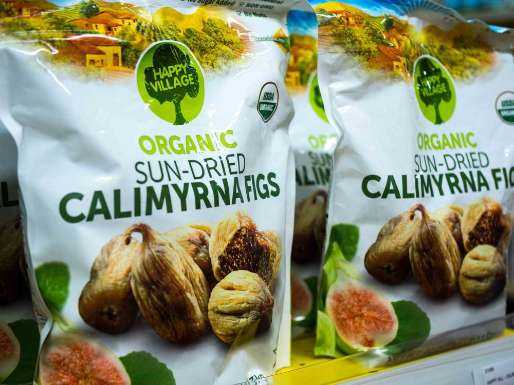 Happy Village Organic Sun-Dried Calimyrna Figs
