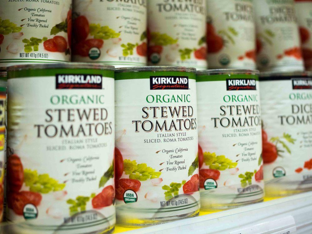 Kirkland Signature Organic Stewed Tomatoes