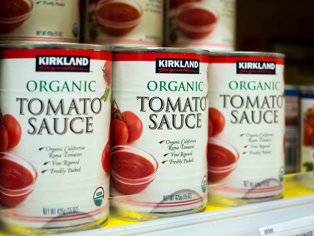 Kirkland Signature Organic Tomato Sauce