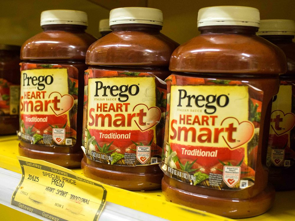 Prego Heart Smart Spaghetti Sauce