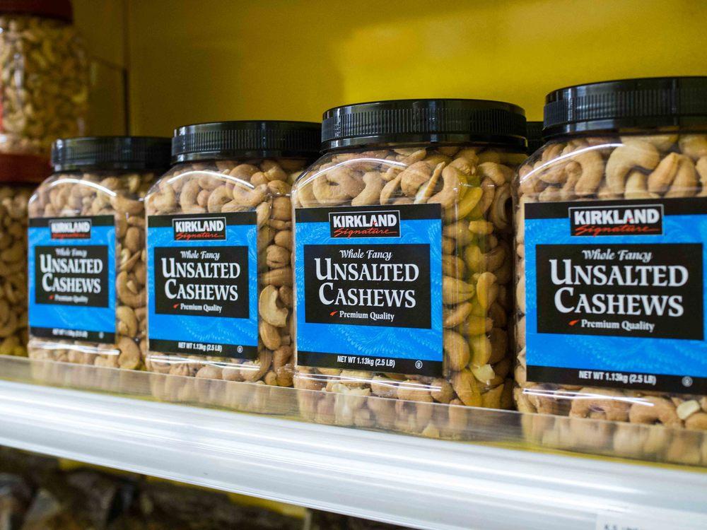 Kirkland Unsalted Cashews