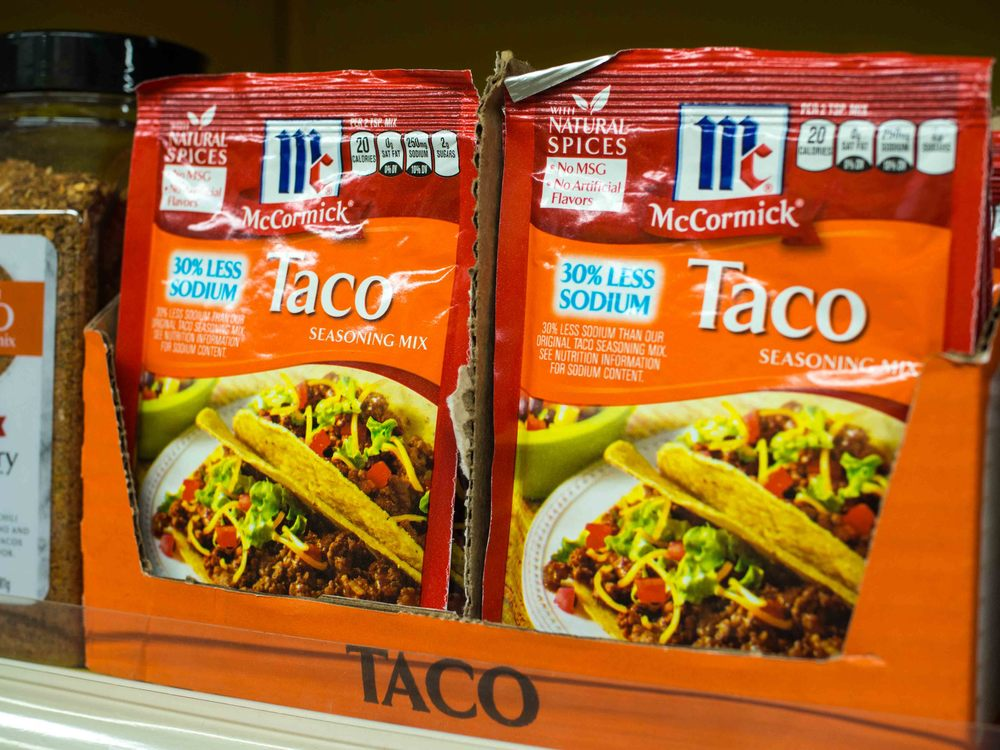 McCormick Taco Season