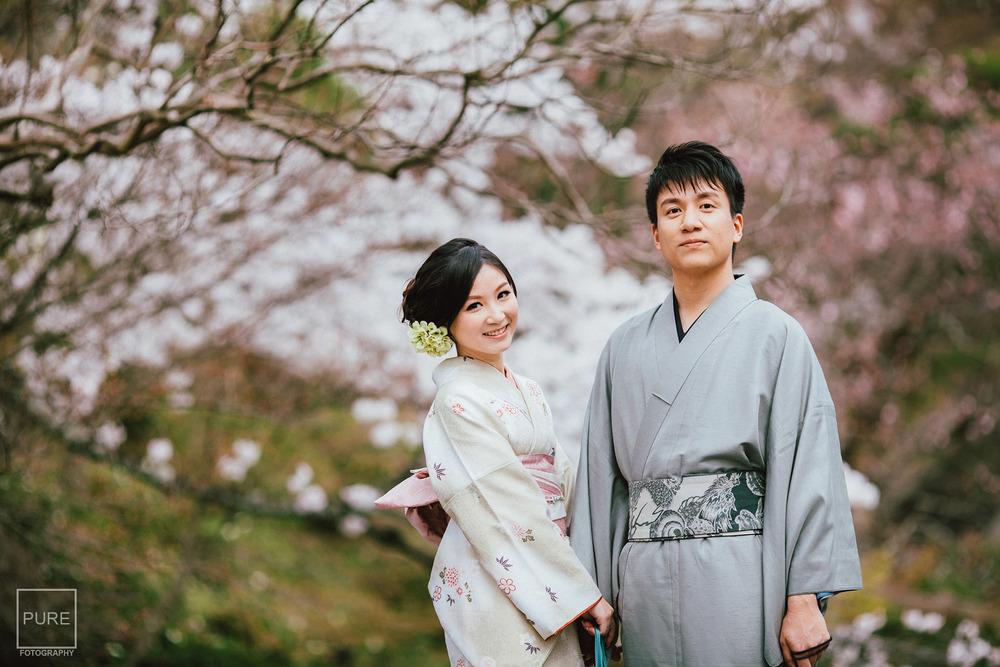 京都婚紗拍攝 和服寫真 清水寺