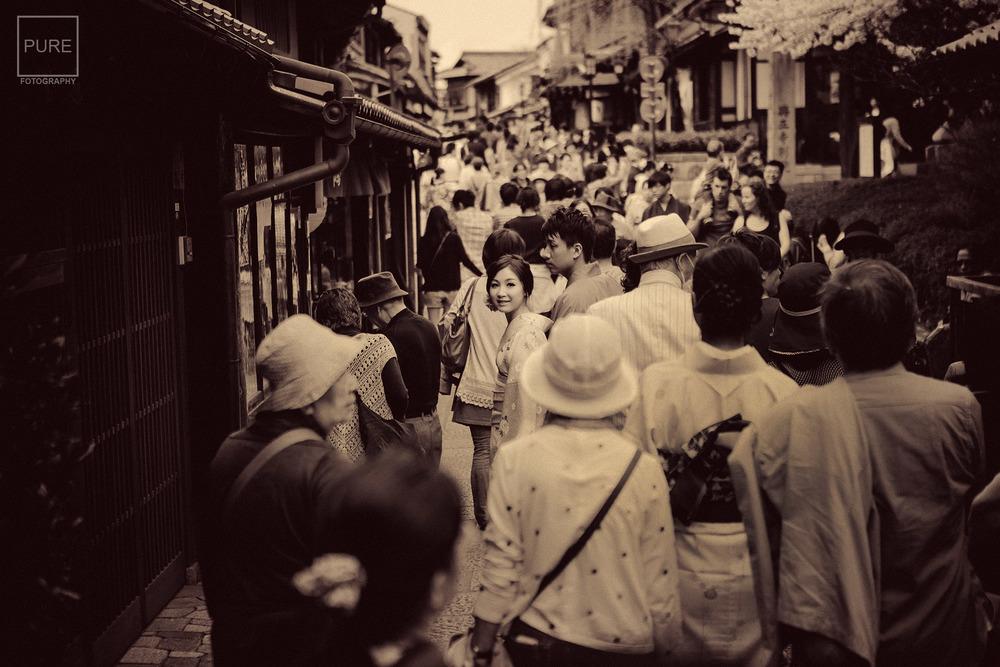 京都和服寫真 海外婚紗 二年坂 三年坂