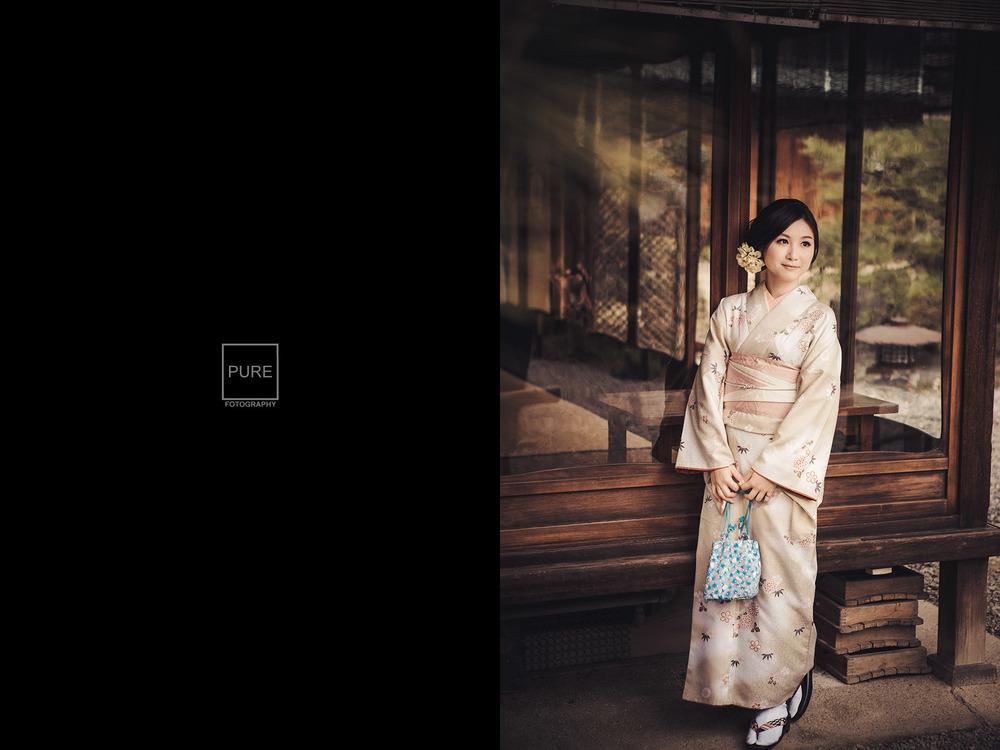 京都婚紗拍攝 岡本織物 岡本和服