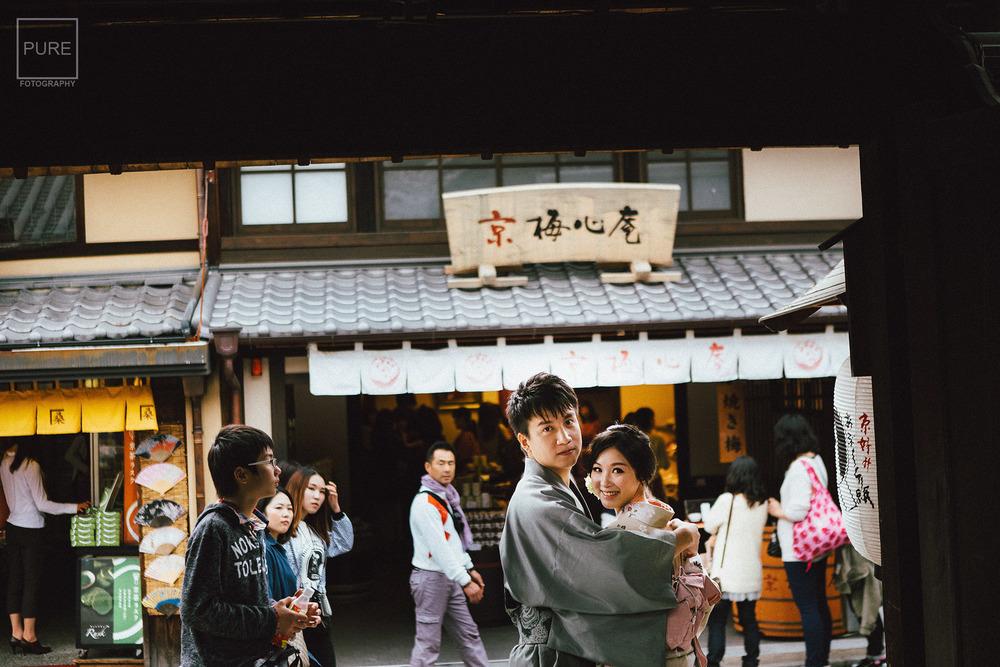 京都婚紗拍攝 海外婚紗 旅遊婚紗 三年坂