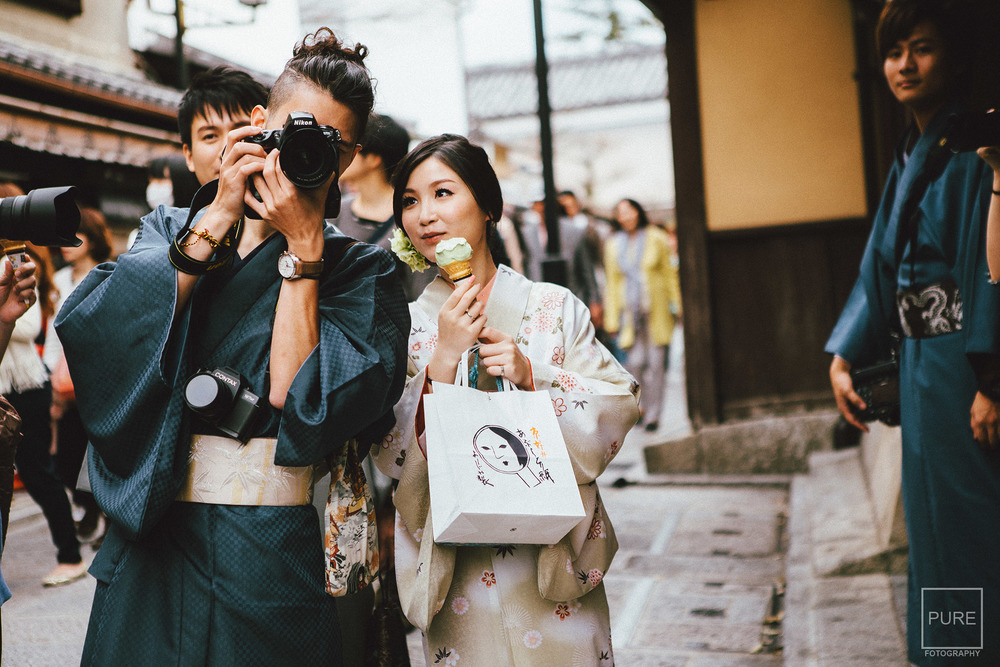 京都海外婚紗 和服寫真 京都婚紗
